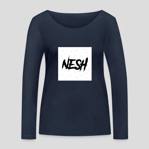 Nesh Logo - Frauen Bio-Langarmshirt von Stanley & Stella