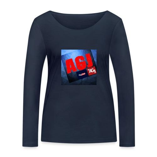 AGJ Nieuw logo design - Vrouwen bio shirt met lange mouwen van Stanley & Stella