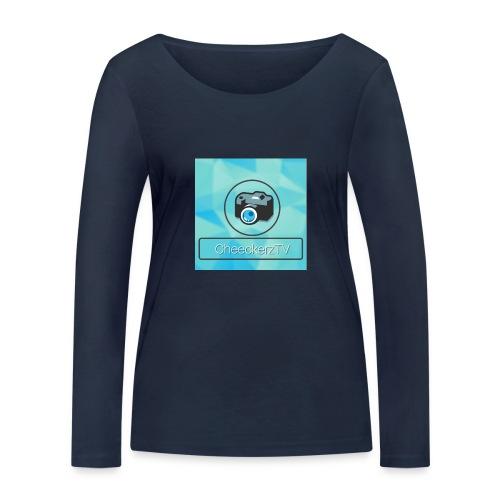 My Logo! - Frauen Bio-Langarmshirt von Stanley & Stella