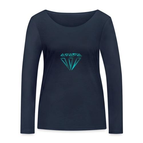 diamante - Maglietta a manica lunga ecologica da donna di Stanley & Stella