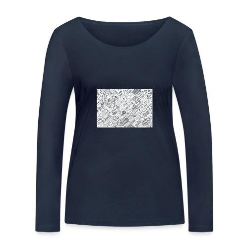 Doodle - Ekologiczna koszulka damska z długim rękawem Stanley & Stella