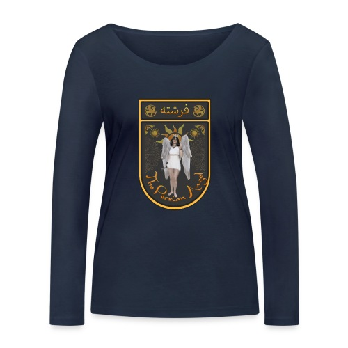 Persian Angel Anahita - Farsi Angel - Women's Organic Longsleeve Shirt by Stanley & Stella