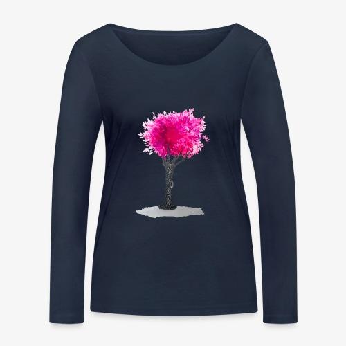 Tree - Women's Organic Longsleeve Shirt by Stanley & Stella