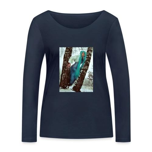 Zimowe anime - Ekologiczna koszulka damska z długim rękawem Stanley & Stella