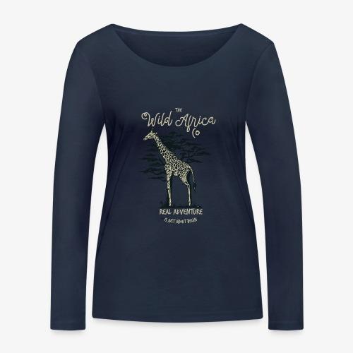 Giraffe - Frauen Bio-Langarmshirt von Stanley & Stella