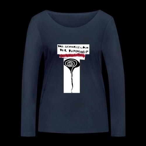 schwarzes lochohne signatur - Frauen Bio-Langarmshirt von Stanley & Stella
