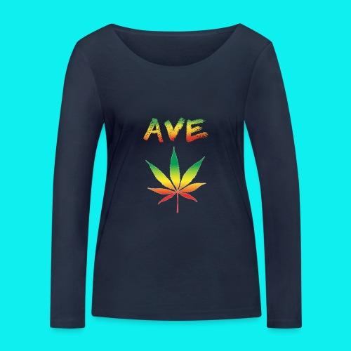 AveMarija - Maglietta a manica lunga ecologica da donna di Stanley & Stella