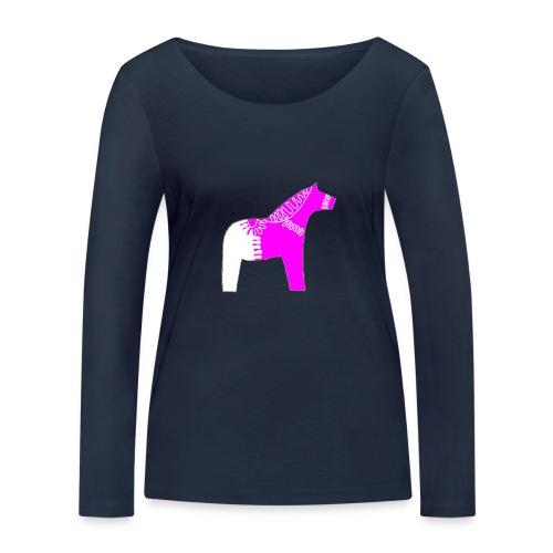 Dala by Pinni Art® pink - Frauen Bio-Langarmshirt von Stanley & Stella