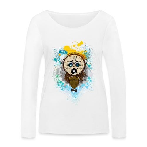 Remember the futur Souviens toi du futur - T-shirt manches longues bio Stanley & Stella Femme