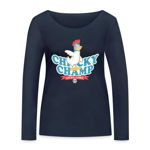 Chicky Champ - Maglietta a manica lunga ecologica da donna di Stanley & Stella