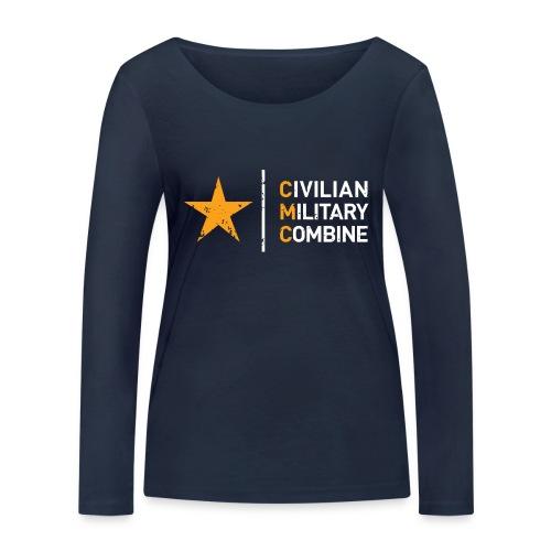 CMC Design - Vrouwen bio shirt met lange mouwen van Stanley & Stella