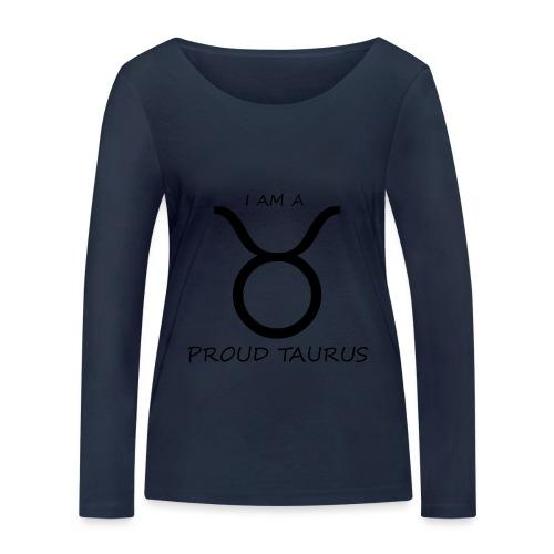 TAURUS - Women's Organic Longsleeve Shirt by Stanley & Stella