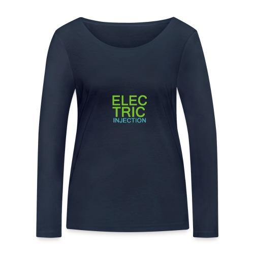 ELECTRIC INJECTION basic - Frauen Bio-Langarmshirt von Stanley & Stella