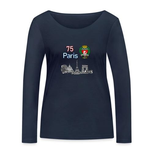 Paris france - T-shirt manches longues bio Stanley & Stella Femme