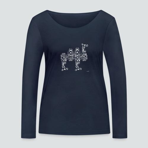 Trampeltier png - Frauen Bio-Langarmshirt von Stanley & Stella