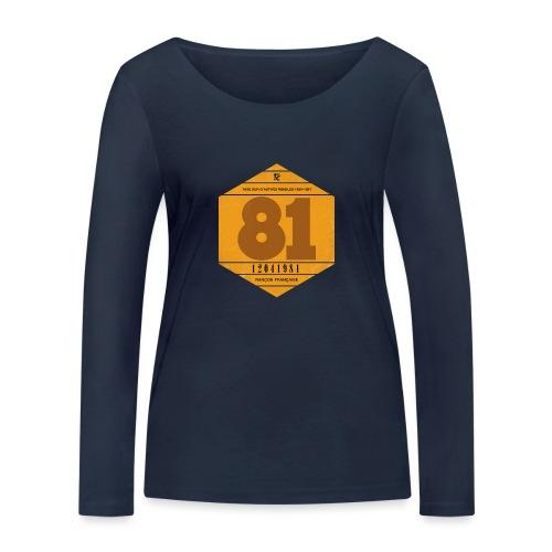 Vignette automobile 1981 - T-shirt manches longues bio Stanley & Stella Femme