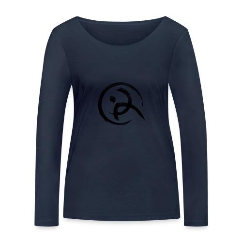 PKA_Enso_black - Frauen Bio-Langarmshirt von Stanley & Stella