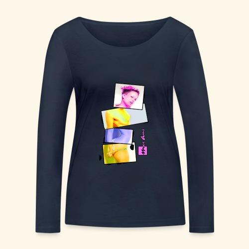 Untitled 3 explose - T-shirt manches longues bio Stanley & Stella Femme