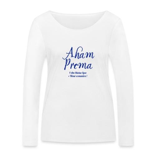 AHAM PREMA - Maglietta a manica lunga ecologica da donna di Stanley & Stella