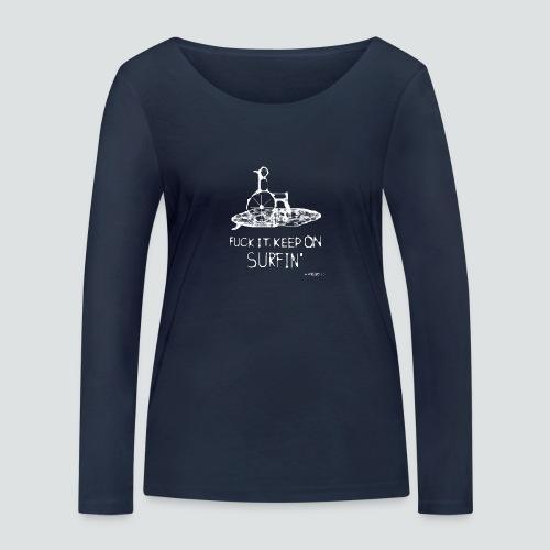keep on Surfin png - Frauen Bio-Langarmshirt von Stanley & Stella