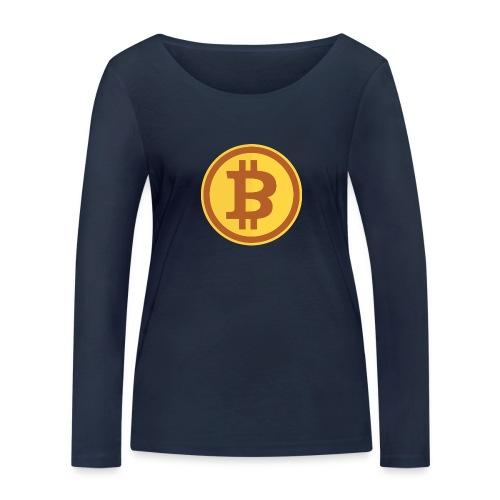Bitcoin - Frauen Bio-Langarmshirt von Stanley & Stella