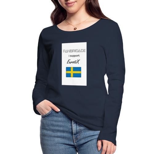 Fanbrigade - Økologisk Stanley & Stella langærmet T-shirt til damer