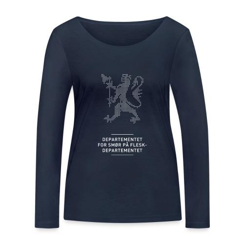 Departementsdepartementet (fra Det norske plagg) - Økologisk langermet T-skjorte for kvinner fra Stanley & Stella