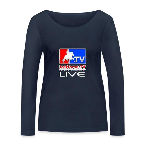 IceHorse logo - Women's Organic Longsleeve Shirt by Stanley & Stella