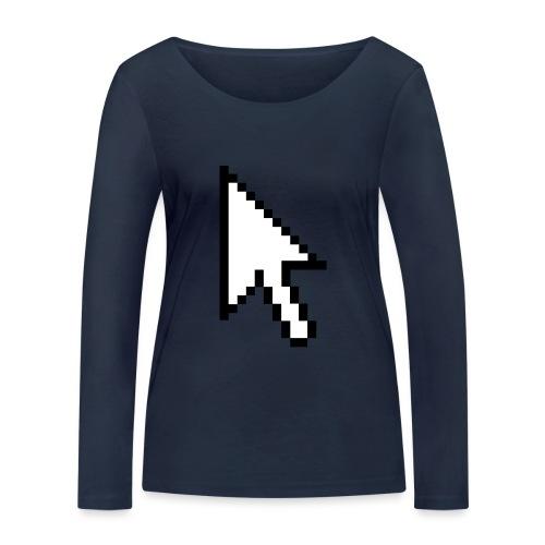 Mouse Arrow - Vrouwen bio shirt met lange mouwen van Stanley & Stella