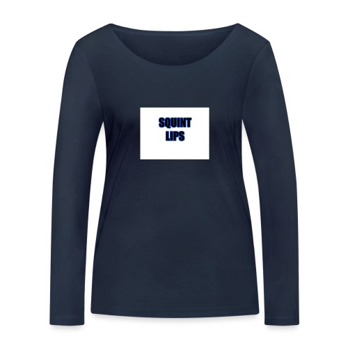 Squint Lips Merch - Women's Organic Longsleeve Shirt by Stanley & Stella