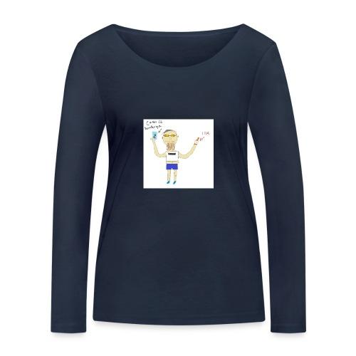Hipster at Häng Bar - Ekologisk långärmad T-shirt dam från Stanley & Stella