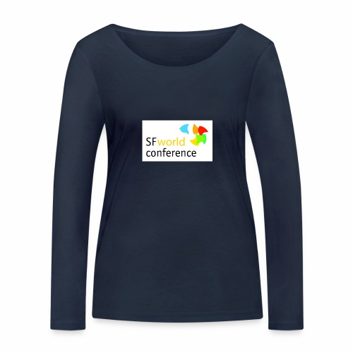 SFworldconference T-Shirts - Frauen Bio-Langarmshirt von Stanley & Stella