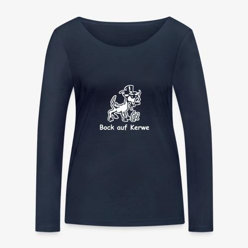 Bock auf Kerwe - Frauen Bio-Langarmshirt von Stanley & Stella