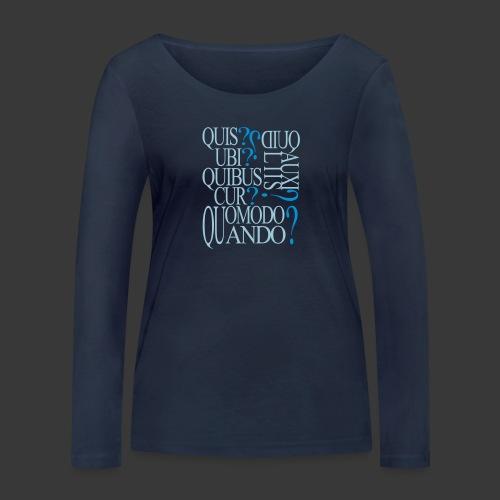 qqq - Women's Organic Longsleeve Shirt by Stanley & Stella
