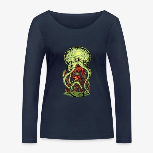 Attaque extraterrestre - T-shirt manches longues bio Stanley & Stella Femme