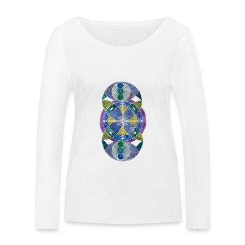 Trebol infinito de Fortuna - Camiseta de manga larga ecológica mujer de Stanley & Stella