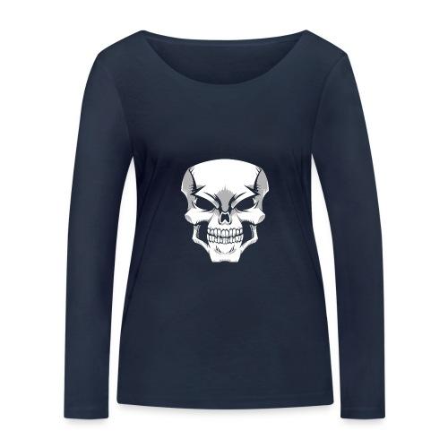 Skull - Camiseta de manga larga ecológica mujer de Stanley & Stella