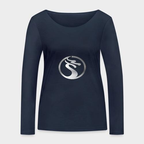 LOGO DRAGON PLATA - Camiseta de manga larga ecológica mujer de Stanley & Stella