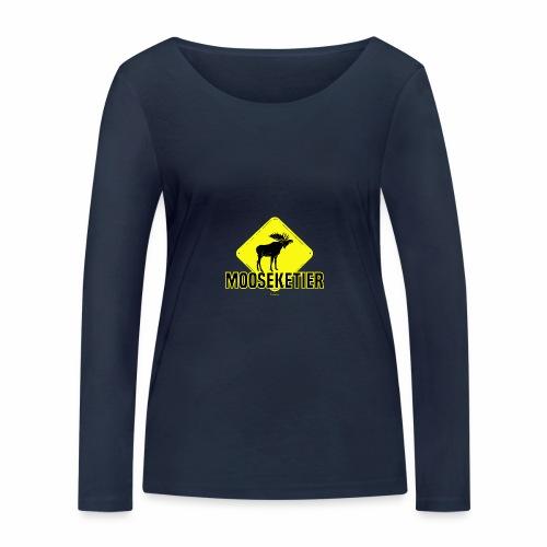 Moosketier - Vrouwen bio shirt met lange mouwen van Stanley & Stella
