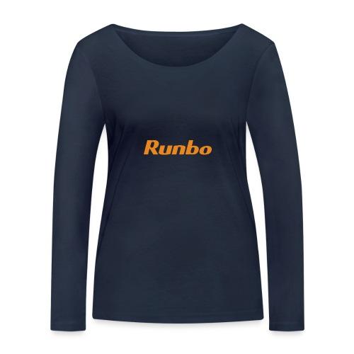 Runbo brand design - Women's Organic Longsleeve Shirt by Stanley & Stella
