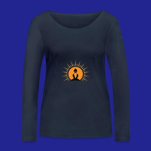 Guramylife logo black - Women's Organic Longsleeve Shirt by Stanley & Stella