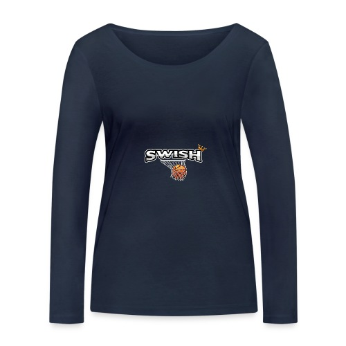 The king of swish - For basketball players - Women's Organic Longsleeve Shirt by Stanley & Stella