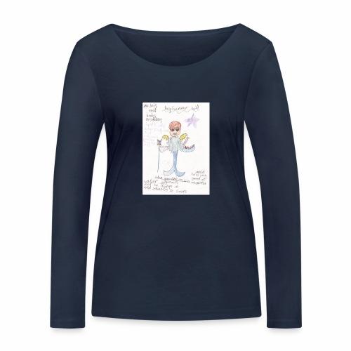 Big Swimmer Bill DHIRT - Women's Organic Longsleeve Shirt by Stanley & Stella