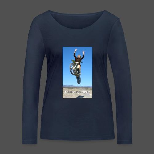 Stuntvrouw (v) - Vrouwen bio shirt met lange mouwen van Stanley & Stella