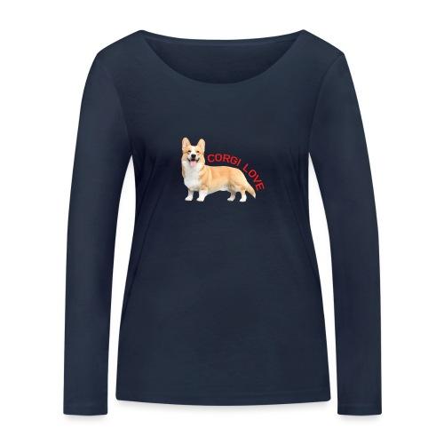 CorgiLove - Women's Organic Longsleeve Shirt by Stanley & Stella