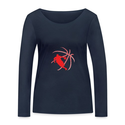 Basketball - Women's Organic Longsleeve Shirt by Stanley & Stella