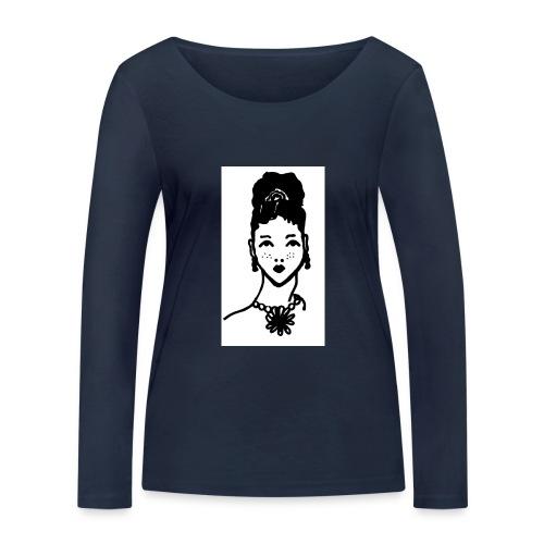 Zahara2 - Camiseta de manga larga ecológica mujer de Stanley & Stella