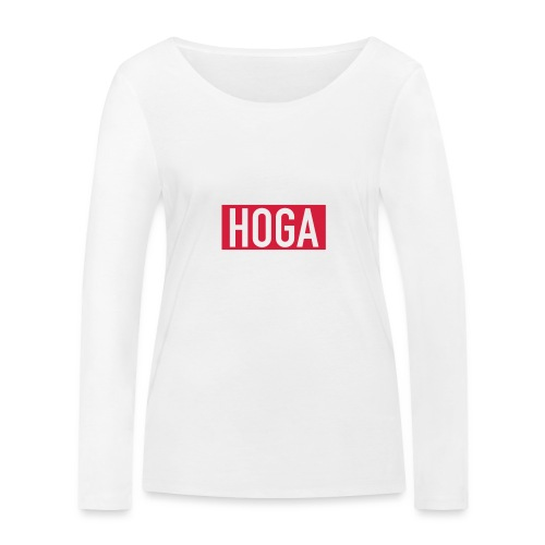 HOGAREDBOX - Økologisk langermet T-skjorte for kvinner fra Stanley & Stella