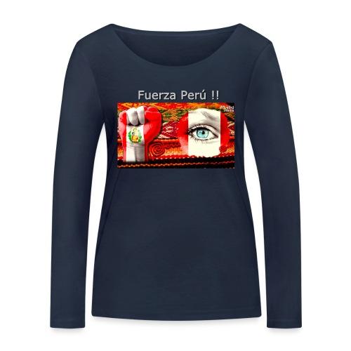 Telar Fuerza Peru I. - Frauen Bio-Langarmshirt von Stanley & Stella
