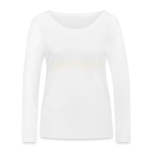 Hollyweed shirt - T-shirt manches longues bio Stanley & Stella Femme